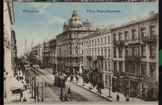 Warsaw, the capital of Poland is renowned around the world as the phoenix city that rose up from the ruins and conducted a reconstruction and rebuilding. Warsaw City, Warsaw Poland, Old Pictures, Old Photos, Vintage Photos, Pictures Of Beautiful Places, War Image, 10 Picture, Central Europe
