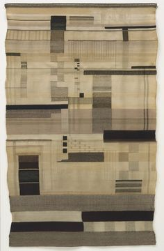"liverodland: "" Disciplined magic: the textiles and designs of Bauhaus artist Gunta Stölzl. The weavers of the Bauhaus school were arguably the most influential and successful of all the workshops in. Walter Gropius, Weaving Textiles, Tapestry Weaving, Textile Tapestry, Bauhaus Textiles, Anni Albers, Bauhaus Design, Bauhaus Art, Textile Artists"