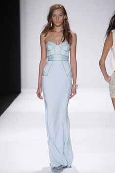 Badgley Mischka RTW Spring 2015 - Slideshow - Runway, Fashion Week, Fashion Shows, Reviews and Fashion Images - WWD.com