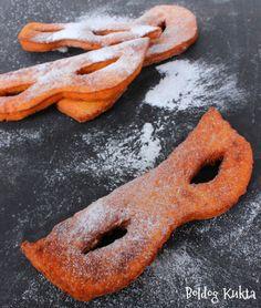 Doughnuts with orange  Boldog Kukta: Narancsos farsangi maszkok és a fánk története röv... Onion Rings, Ethnic Recipes, Food, Essen, Meals, Yemek, Onion Strings, Eten