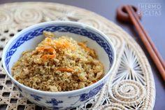 ¡Cómo nos gusta la quinoa! Para los que no la conozcáis mucho todavía, os dejo este artículo que escribimos hace tiempo en el que os contamos qué es la quinoa y cuáles son sus estupendas propiedades y