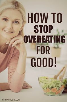 It's been years since I've been a chronic overeater. Now, I can go to any party or event, be stressed and not even be tempted to overeat. And it's not willpower! I simply don't have the desire anymore. Here's how to stop overeating for good. Trying To Lose Weight, Losing Weight Tips, Best Weight Loss, Weight Loss Tips, How To Lose Weight Fast, Healthy Weight Loss, Remove Belly Fat, Lose Belly Fat, Lose Fat