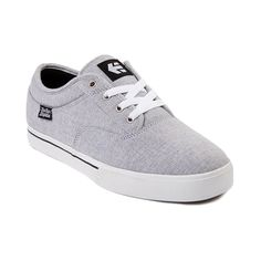 Mens etnies Jameson Skate Shoe in Light Gray at Journeys Shoes. Available exclusively at Journeys!