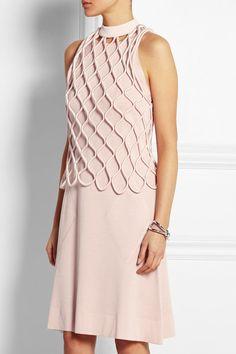 Balenciaga top and dress