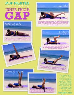 INNER THIGH workout ....i gotta try this hate my inner thigh fat I wana chop it off lol so I def need try this