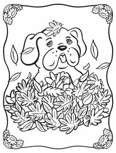 Follow the link below to download this coloring page! http://www.bendonpub.com/upload/coloring-pages/nov-puppy.pdf