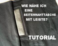 tutorial: seitennahttasche mit leiste naehschule von  www.rentatailor.de