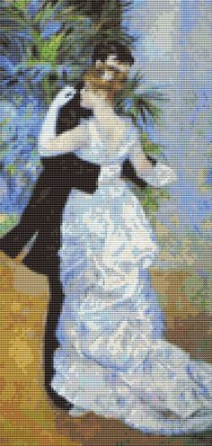 Dance In The City Cross Stitch Pattern by Mydreamsofavalon on Etsy, $6.00