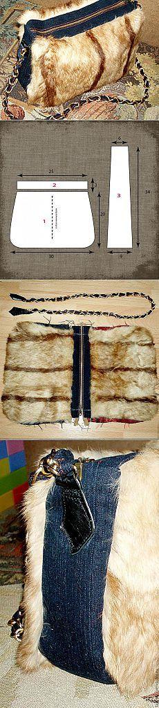 Как сшить сумку из меха - Ярмарка Мастеров - ручная работа, handmade