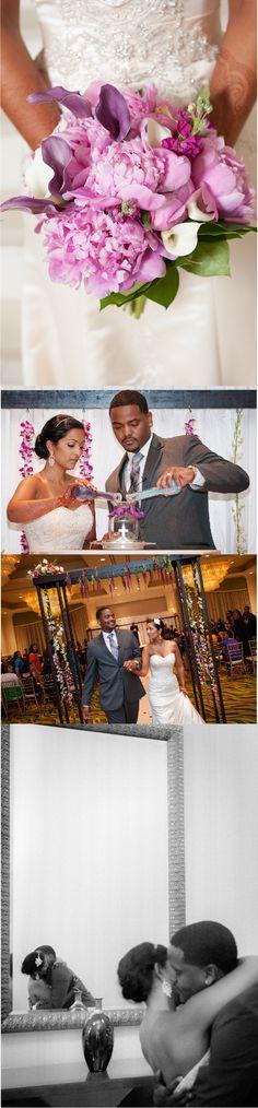 Interfaith Hindu Christian Wedding by McCardell Photography Purple Wedding, Wedding Bride, Floral Wedding, Interracial Wedding, Interracial Love, Marriage Relationship, Love And Marriage, Swirl Dating, Wedding Advice