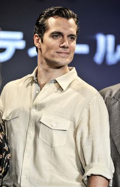 When he just stood there looking like a real-life superhero. | 19 Times Henry Cavill's Jawline Was Out Of Control
