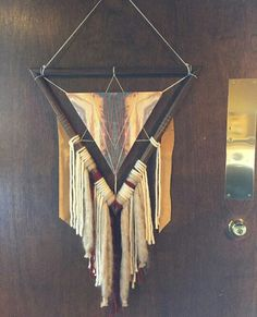 triangle wall hanging dream catcher