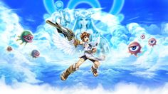 Wallpaper from Kid Icarus: Uprising