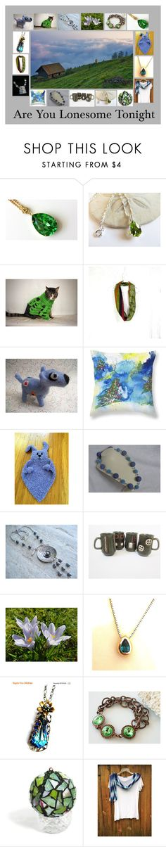 Are You Lonesome Tonight: Handmade Gift Ideas by paulinemcewen on Polyvore featuring rustic, vintage and country