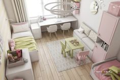 Everyone wants to have the perfect home. Between the Hollywood ideal of fancy homes that fit a person's personality and the culture of home ownership in the United States, it only makes sense that . Small Girls Bedrooms, Boy And Girl Shared Bedroom, Girl Room, Kids Bedroom, Bedroom Decor, Girls Room Design, Home Room Design, Girl Bedroom Designs, Childrens Room Decor