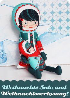 Mega-Weihnachts-Sale und die Chance auf eine fertige Inuit-Puppe mit kleiner Schwester