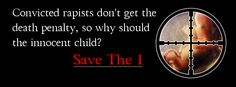 """Save The 1 -- pro-life speakers, writers and activists representing the so-called """"hard cases"""" in abortionSave the 1"""