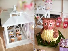It's a whole Owl themed party...very cute