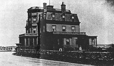 The original Bleak House built by Tom Winans in Newport, Rhode Island on the Narragansett Bay. Tom's son Ross Revillon Winans later demolished the house and built one more to his liking. Narragansett Bay, Bleak House, House Built, Rhode Island, Empire State Building, Newport, Novels, The Originals, American