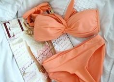 Coral salmon pink peach tangerine orange - coral | www.myLusciousLife.com