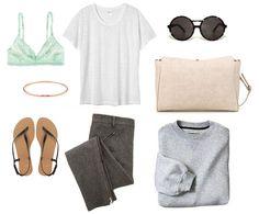 airplane outfit sans sweatpants.