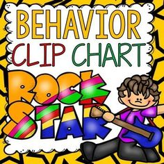 Reinforcing positive behavior at the outset is the key to effective classroom management and this  behavior clip chart could help you do just that.  www.teacherspayte...