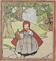 Afbeeldingsresultaat voor roodkapje illustratie