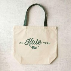 Oh KALE yeah! We're obsessed with this tote bag. Click through to check out 11 more adorable options!