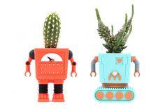 Bloempot Robot van Doiy bestel je bij Cadeau.nl!