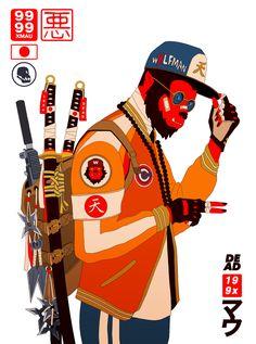 Streetwear Illustrations By Mau Lencinas