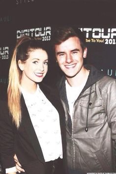 Zoe Sugg and Connor Franta. I love both of these people!