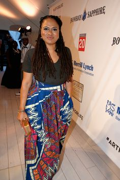 Get the look: ava duvernay proves you can wear a maxi skirt for every occasion Natural Hair Twist Out, Natural Hair Styles, Dreads, Black Goddess, Virgo Women, Office Fashion Women, African Fashion, Ankara Fashion, Get The Look