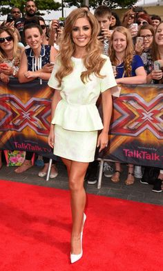 Cheryl Fernandez-Versini In 3.1 Phillip Lim At The X Factor TV Show Auditions, 2014