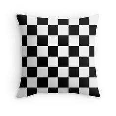 sold a pair of Checkered Flag Print pillows from #RedBubble  @redbubble