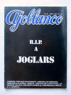 Coleccionismo de Revistas y Periódicos: AJOBLANCO LOTE DE 28 REVISTAS (1975/1977/1978+ NUEVA ÉPOCA (1988/1992)VER FOTOS Y DESCRIPCIÓN - Foto 14 - 67251977