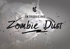 Zombie Dust by Fontdation on @creativemarket
