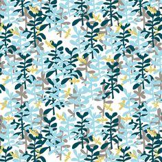 Jade Garden fabric by verysarie on Spoonflower - custom fabric