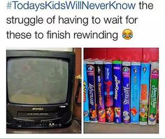 YASSSS!!!!!! My brother and I used to share a tv like that upstairs (in addition to the flatscreen downstairs) for years! We had it for atleast 9-10 years