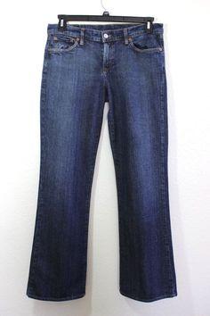 LUCKY BRAND Womens Lowrise Bootcut Ol Midtown Wash Jeans Sz 12/31 x 31 #LuckyBrandDungarees #BootCut