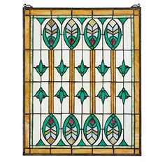 Design Toscano Elmslie Stained Glass Window ** To view further for this item, visit the image link. (This is an affiliate link and I receive a commission for the sales)