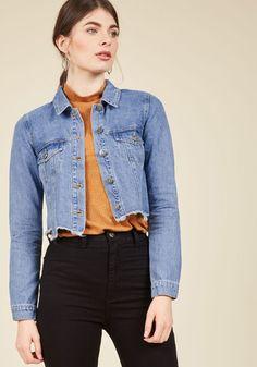 8a8ecd8e6df Makes Things Breezier Wide-Leg Pants. Blue Jean JacketDistressed ...