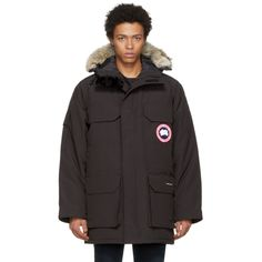canada goose expedition parka dam brun