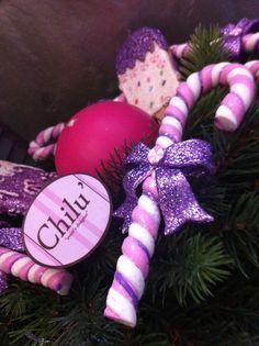 Mouve e pink anche a Natale!