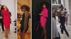 My girl and fashion love, Tracee Ellis Ross, looking dynamite as usual. Love, love, love all the looks here.  Totally need pants w/suspenders.  Great looks:)