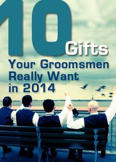 10 personalized groomsmen gifts that the guys will love