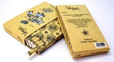 This cigarette packaging has no right to be as pretty as it is.