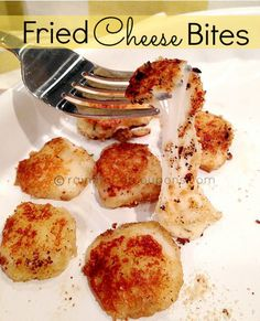 Fried Cheese Bites Recipe (Only 3 Ingredients!) - Raining Hot Coupons
