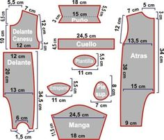 baby pajamas pattern 9 to 12 months Baby Dress Patterns, Baby Clothes Patterns, Sewing Patterns For Kids, Sewing For Kids, Baby Sewing, Doll Patterns, Baby Outfits, Kids Outfits, Pajama Pattern