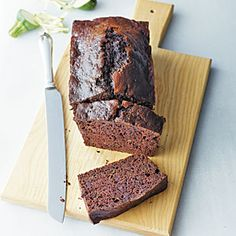 "This moist and cake-like chocolate chip zucchini bread is the perfect way to make sure you are eating your vegetables but still enjoying a sweet treat. ""After searching for a chocolate zucchini bread recipe that didn't require a lot of oil, I came up with this winner. My four-year-old son, Andrew, really likes it, and it's great to be able to enjoy something that's healthy and chocolate at the same time."" -Elizabeth Alcorn, Fort Mitchell, KY"