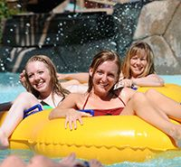 """Colorado's Senior Class Trip has a waterpark & huge roller coasters a white water adventure, a dinner at Hard Rock & even a dinner at the place the Simpson's TV Show made famous """"Casa Bonita"""". Check out: http://www.beachbreaks.com/PDFs/DenverCO_2016_OnLine.pdf"""
